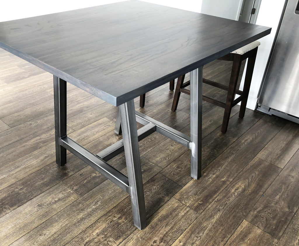 Metal table base 'Alpine' by Symmetry Hardware