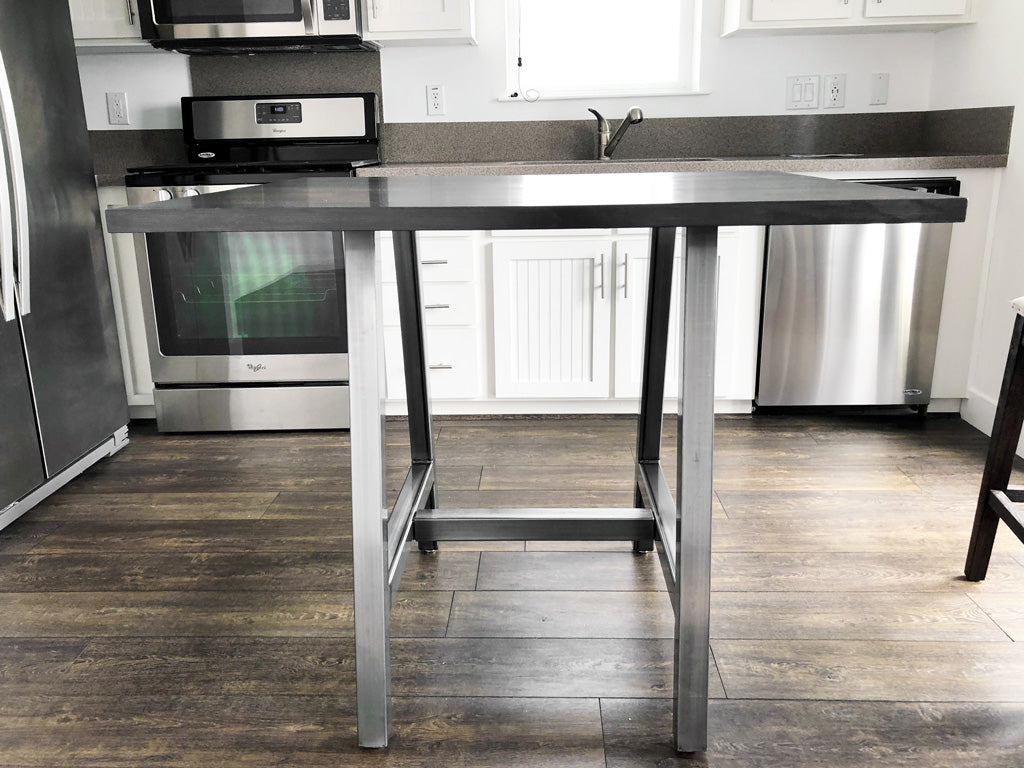 Kitchen island Metal table base 'Alpine' by Symmetry Hardware