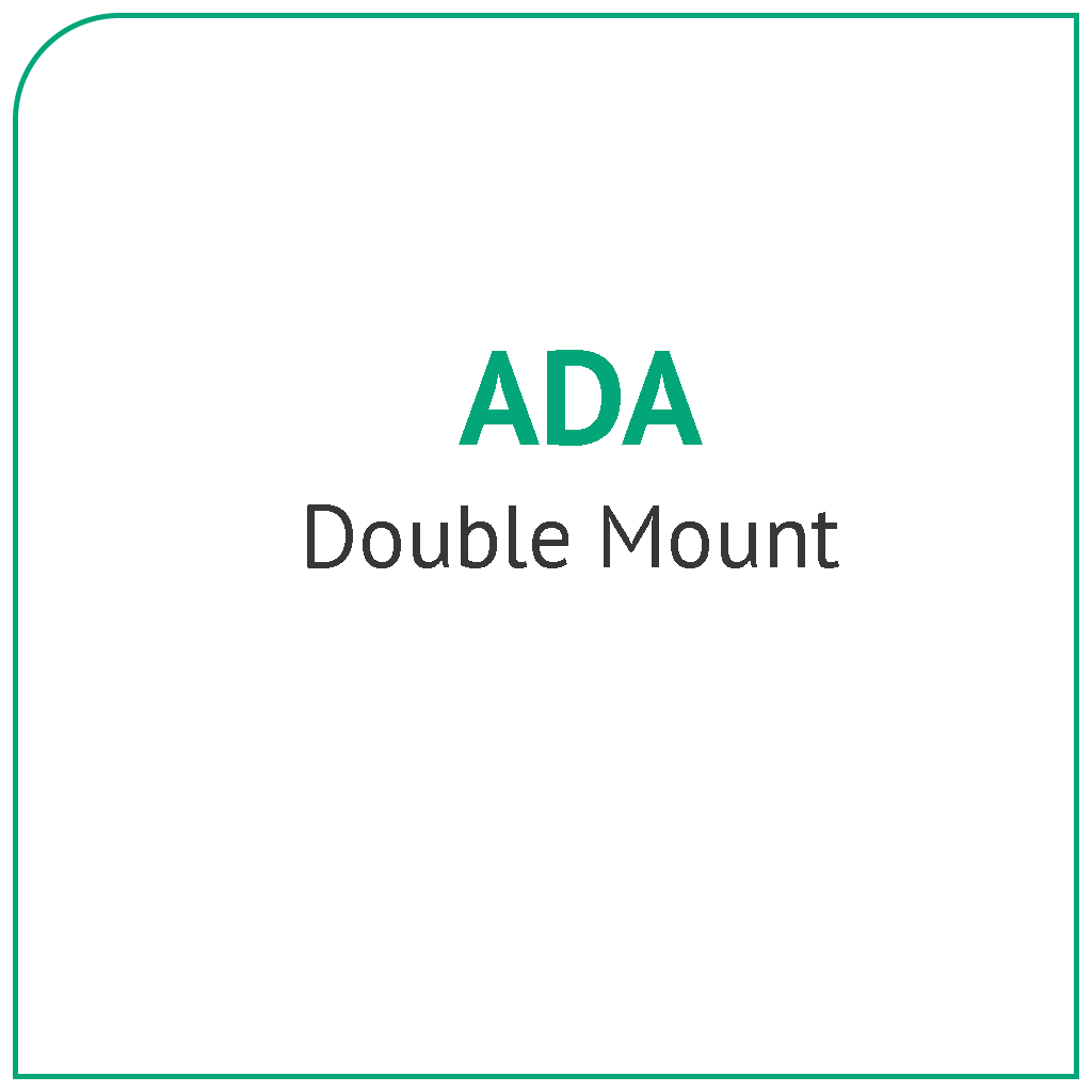 ADA Double Mount