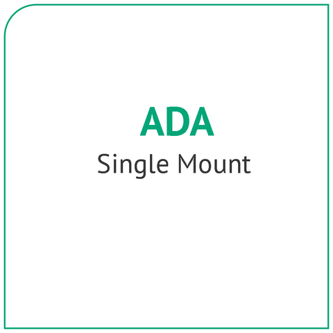 ADA Single Mount