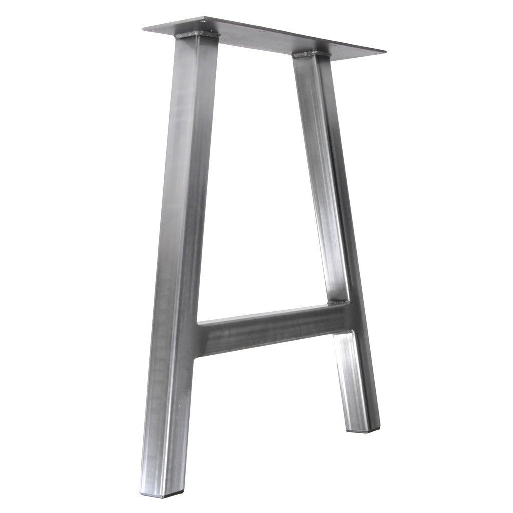 Jumbo a frame farmhouse table leg steel table legs by for What to use for table legs