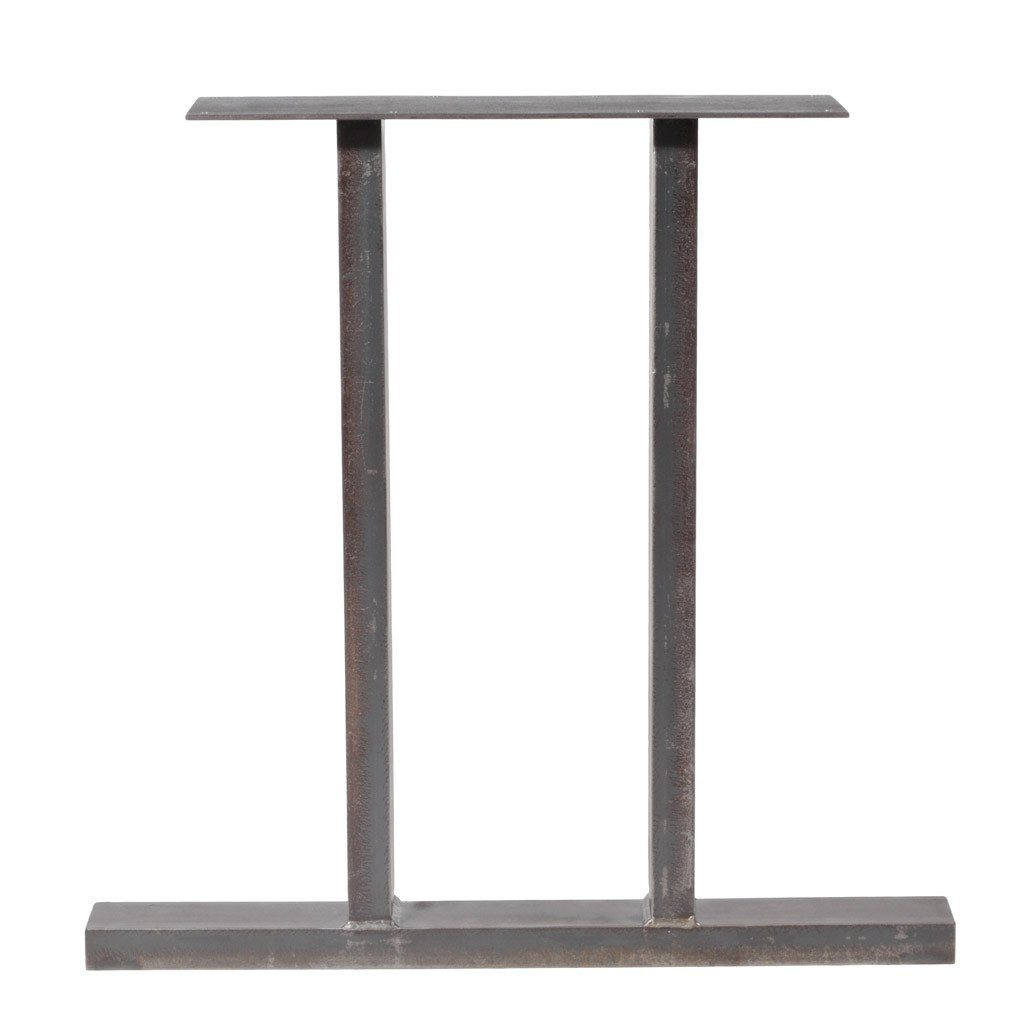Furniture Legs Black jumbo trestle | counter height table legs – steel table legs