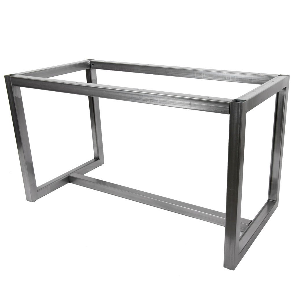 Zephyr metal table base by symmetry hardware
