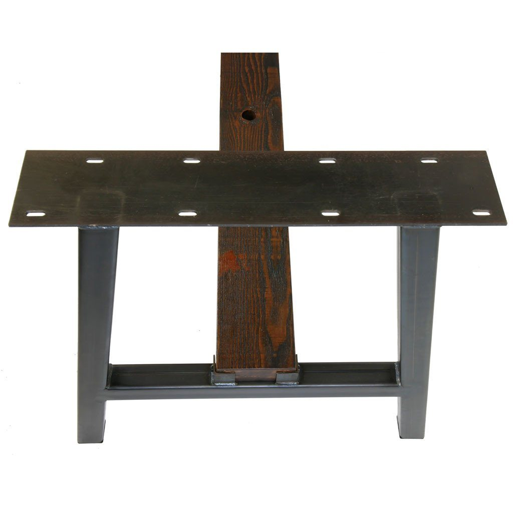 Farmhouse table base  wood not included. Big Timberline   Farmhouse Table Base  wood not included    Steel