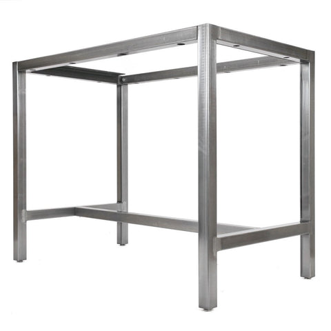 Bar height metal table base by Symmetry Hardware