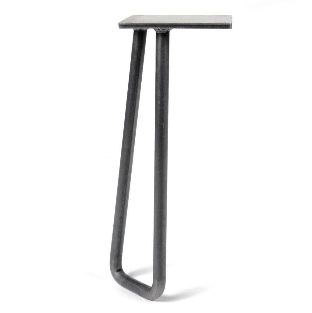 White Powdercoated Steel Sofa Table Legs Console Table Legs Modern Mid Century