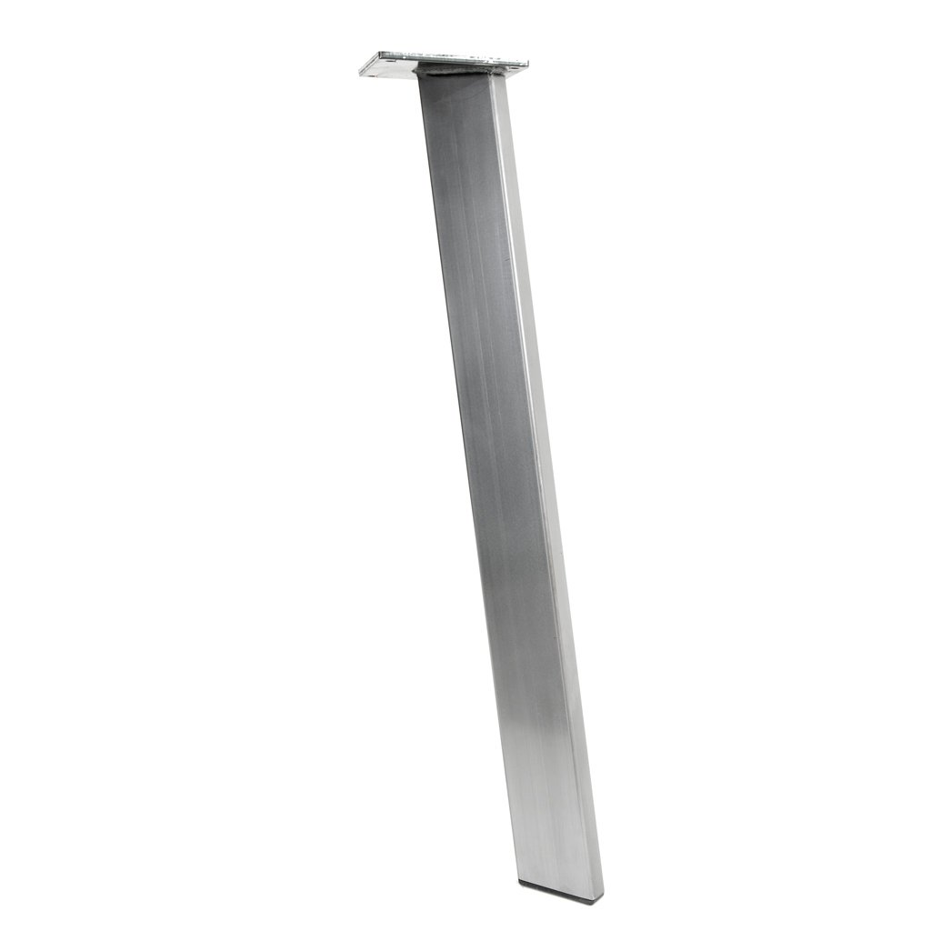Metal dining table leg - Finn
