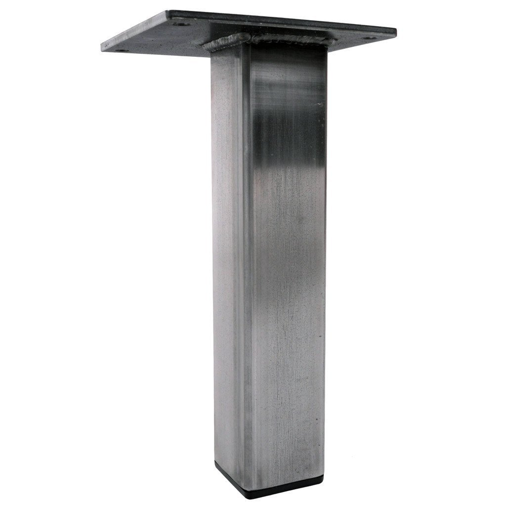 Custom metal table leg by Symmetry Hardware