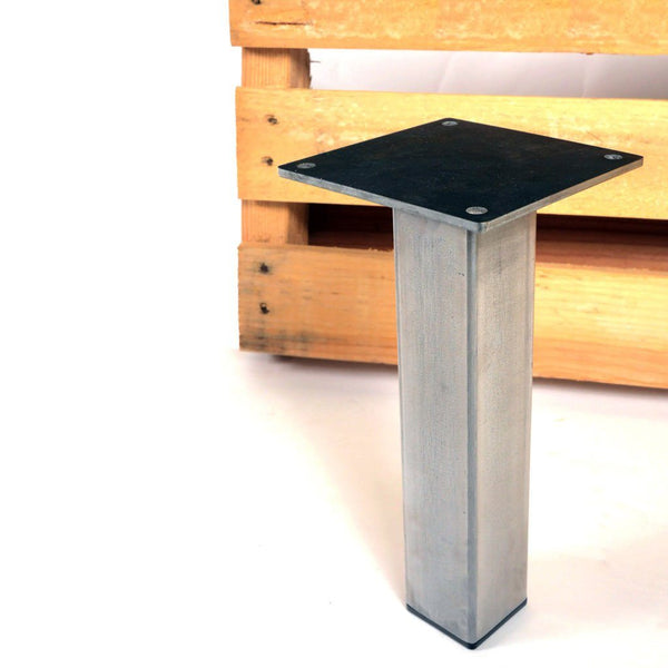 little pillar coffee table leg steel table legs by. Black Bedroom Furniture Sets. Home Design Ideas