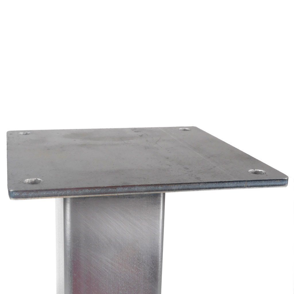 Little Pillar Coffee Table Leg Steel Table Legs by Symmetry Hardware