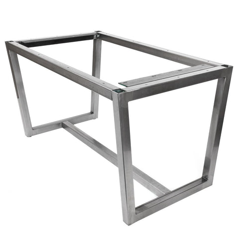 Villa Metal Table Base by Symmetry Hardware
