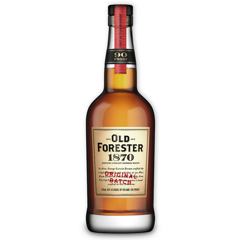 Old Forester Original Batch 1870 Bourbon Whiskey 750ml
