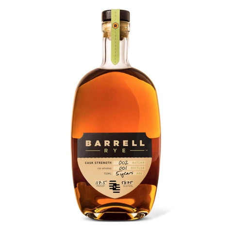Barrell Rye Whiskey Batch 002