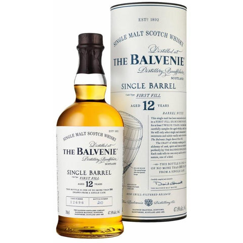 Balvenie 12 Year Single Barrel Single Malt Scotch Whisky
