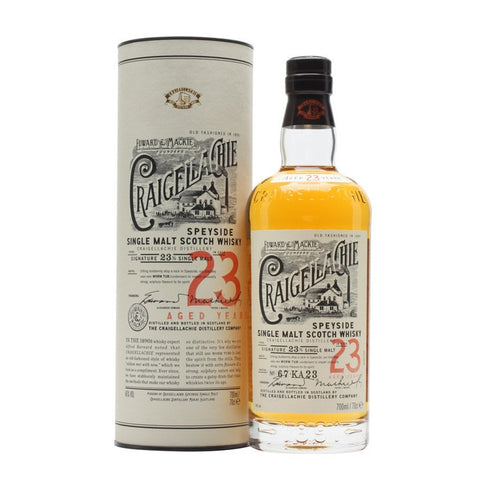 Craigellachie 23 Year Single Malt Scotch Whisky
