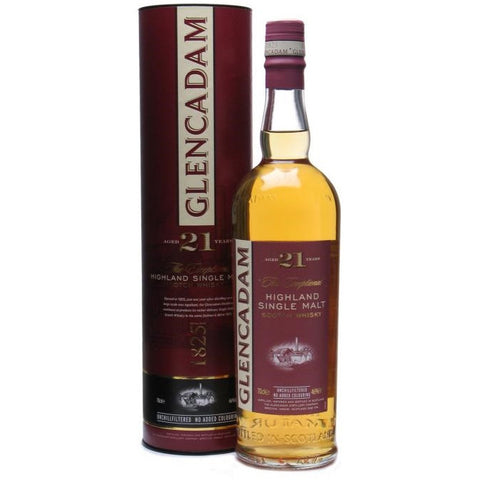 Glencadam 21 Year Single Malt Scotch Whisky 750ml