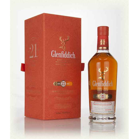 Glenfiddich 21 Year Single Malt Scotch Whisky 750ml