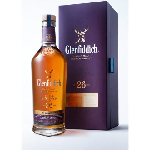 Glenfiddich Excellence 26 Year Single Malt Scotch Whisky 750ml