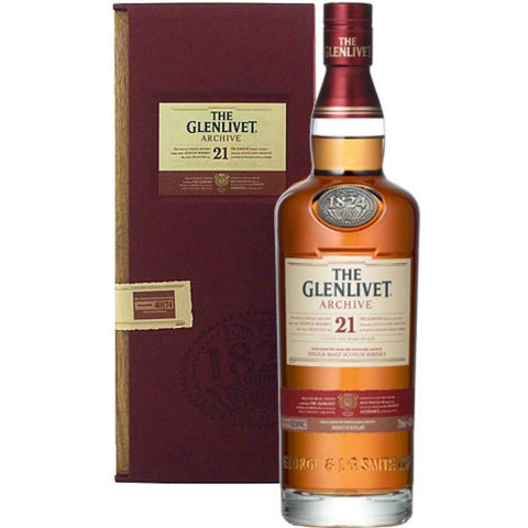 The Glenlivet 21 Year Archive Single Malt Scotch Whisky 750ml