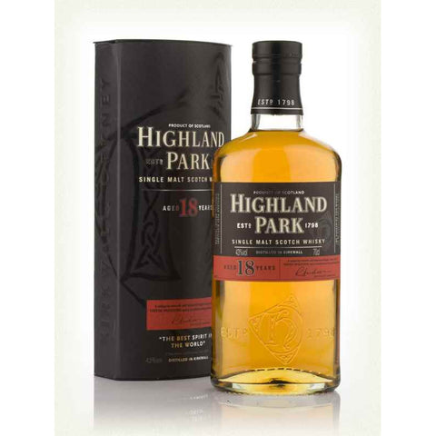 Highland Park 18 Year Single Malt Scotch Whisky 750ml