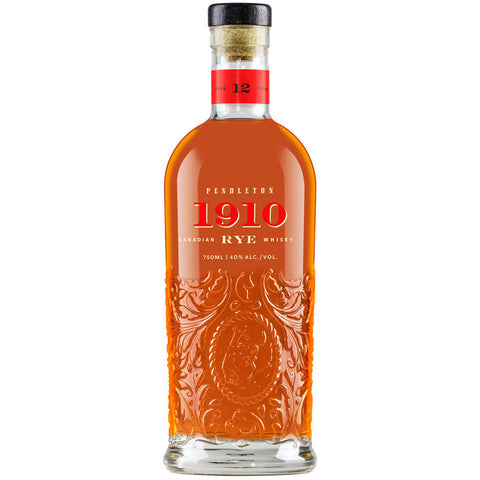 Pendleton 1910 12 Year Canadian Whisky 100% Rye 750ml