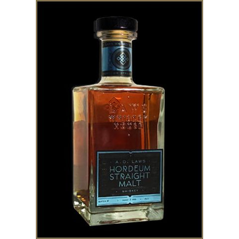 A.D. Laws Hordeum Straight Malt Whiskey
