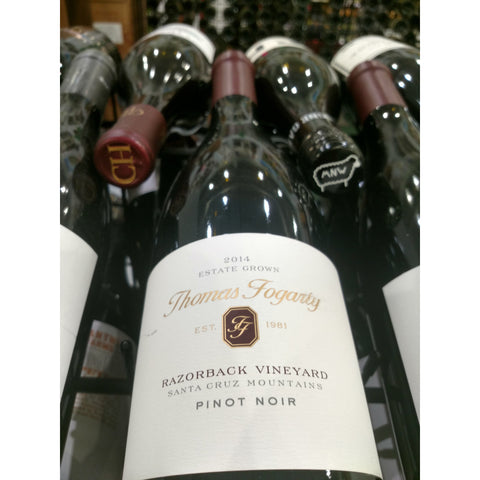 Thomas Fogarty Razorback Vineyard Pinot Noir 2014