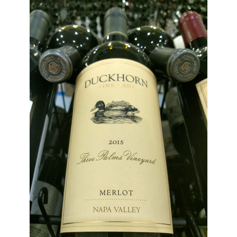 Duckhorn Merlot Three Palms 2015