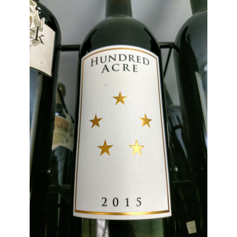 Hundred Acre Cabernet Sauvignon Kayli Morgan Vineyard 2015