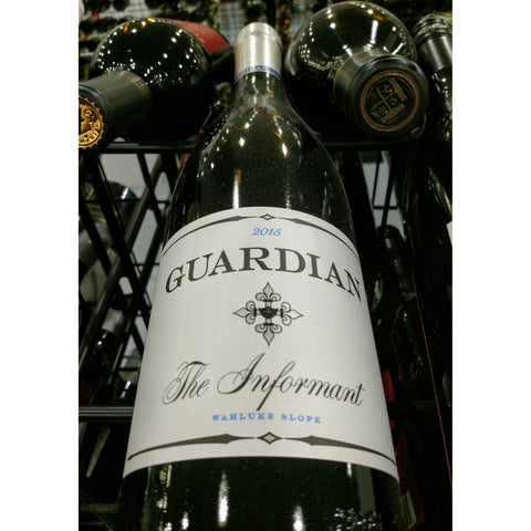 Guardian Cellars The Informant Syrah 2015