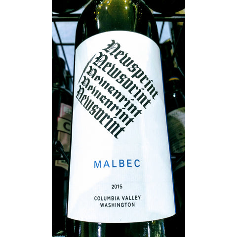 Newsprint Malbec 2015