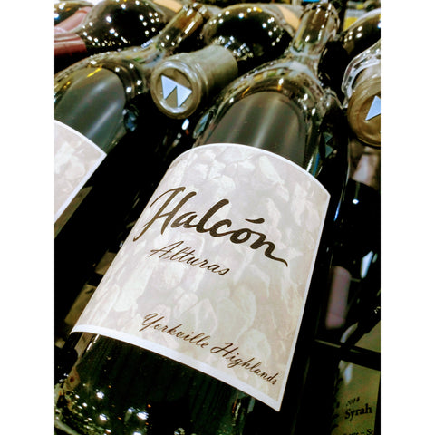Halcon Vineyards Syrah Alturas 2015