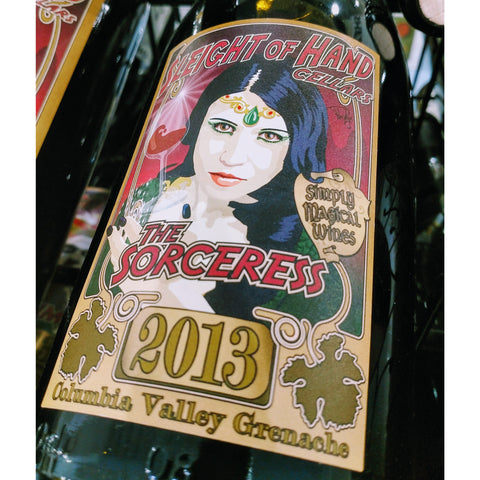 Sleight of Hand Cellars The Sorceress Grenache 2013