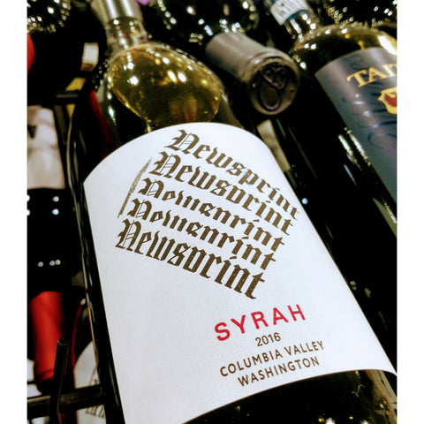 Newsprint Syrah