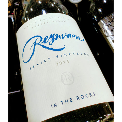 Reynvaan Syrah In The Rocks 2014