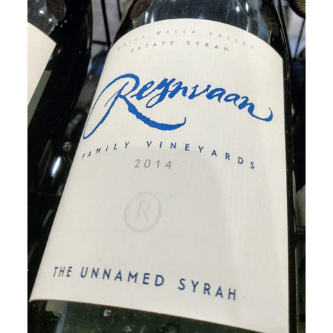 Reynvann Syrah The Unnamed 2014