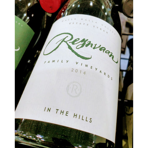 Reynvaan Syrah In The Hills 2014