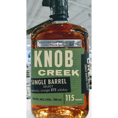 Knob Creek Rye Single Barrel Store Pick