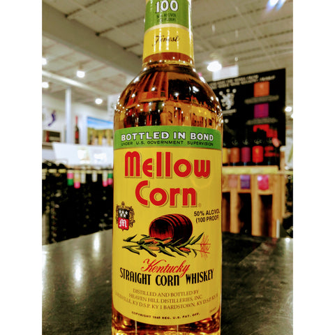 Mellow Corn Kentuck Straight Corn Whiskey
