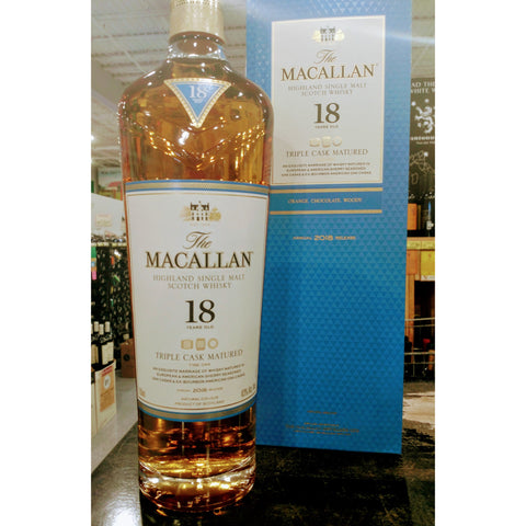 Macallan Triple Cask 18 Years Old Single Malt Scotch Whisky