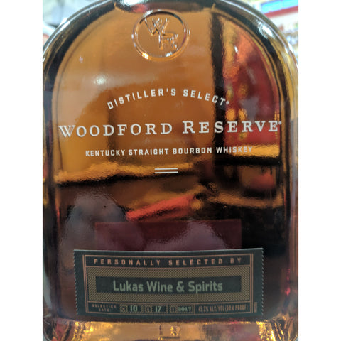Woodford Reserve Single Barrel Store Pick 1L