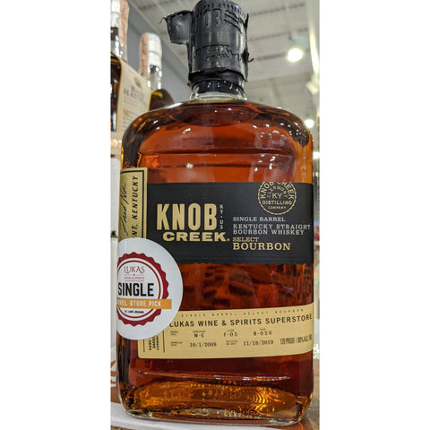 Knob Creek Single Barrel 11 Year Lukas Store Pick