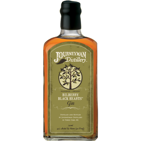 Journeyman Bilberry Black Hearts Barrel Aged Gin 750ml