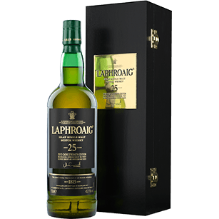 Laphroaig 25 Year Single Malt Scotch Whisky 750ml