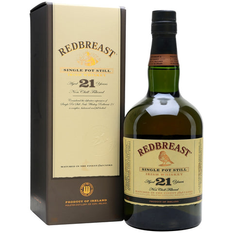 Redbreast 21 Year Irish Whiskey