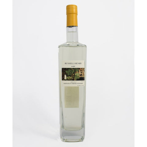 Russell Henry White Ginger Gin 750ml