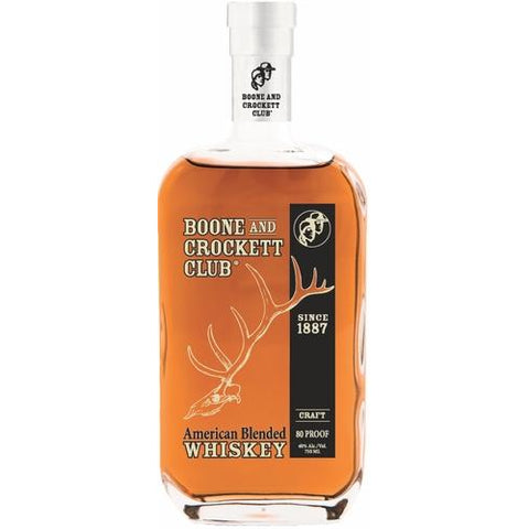 Boone and Crockett Club American Blended Whiskey
