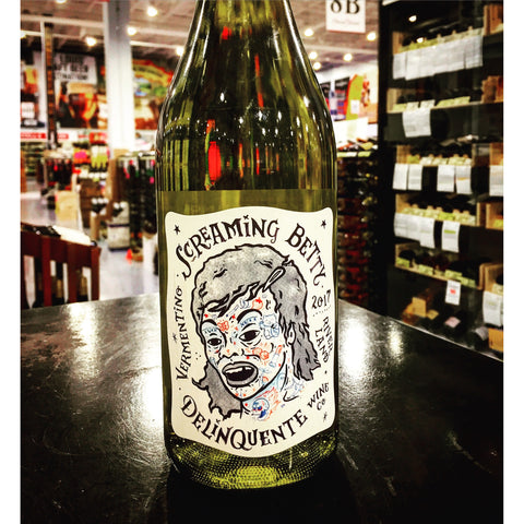 Delinquente Wine Co. 'Screaming Betty' Vermentino 2017