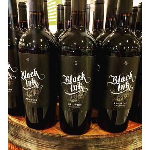 Black Ink Red Blend 2016