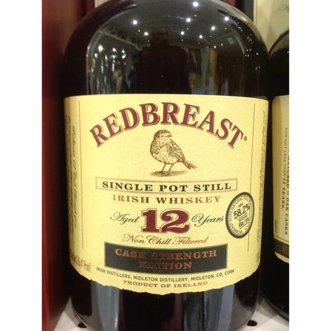 Redbreast 12 Year CASK STRENGTH Irish Whiskey